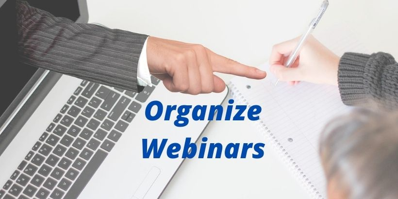 Organize-Webinars- Ultimate-guide-to-digital-marketing-strategy