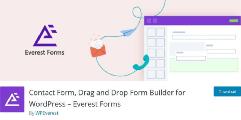 Everest-Forms-Top-10-Bug-Free-Plugins-For-WordPress-Themes