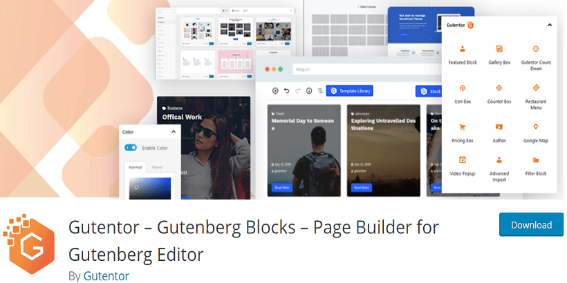 Gutentor-Gutenberg-Blocks-Page-Builder-for-Gutenberg-Editor-Top-10-Bug-Free-Plugins-For-WordPress-Themes