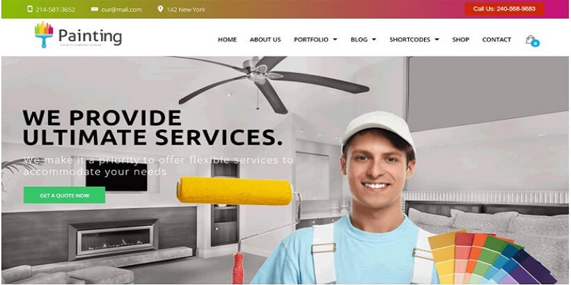 Paint-Painting-Company-WordPress-Theme