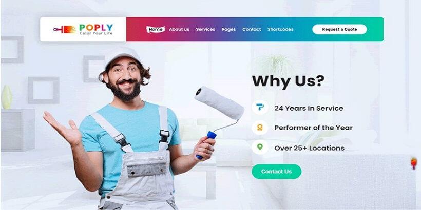 Poply–WordPress-Painting-Company-Theme
