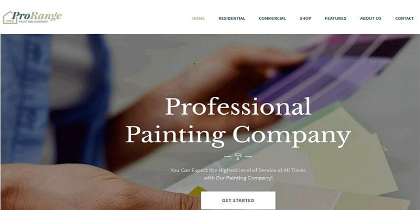 ProRange- Painting-&-Renovation-Company-WordPress-Theme
