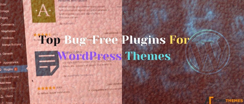 Top-Bug-Free-Plugins-For-WordPress-Themes