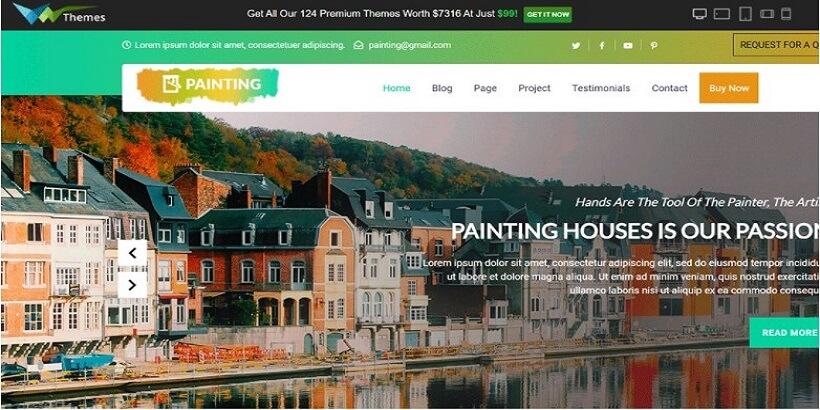 VW-Free-Painter-WordPress-Theme
