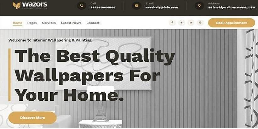 Wazors-Painting-&-Wallpapering-WordPress-Theme