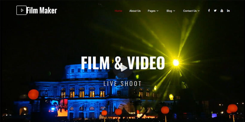 Filmmaker-Best-Free-WordPress-Themes-for-Movie-Reviewing-Sites