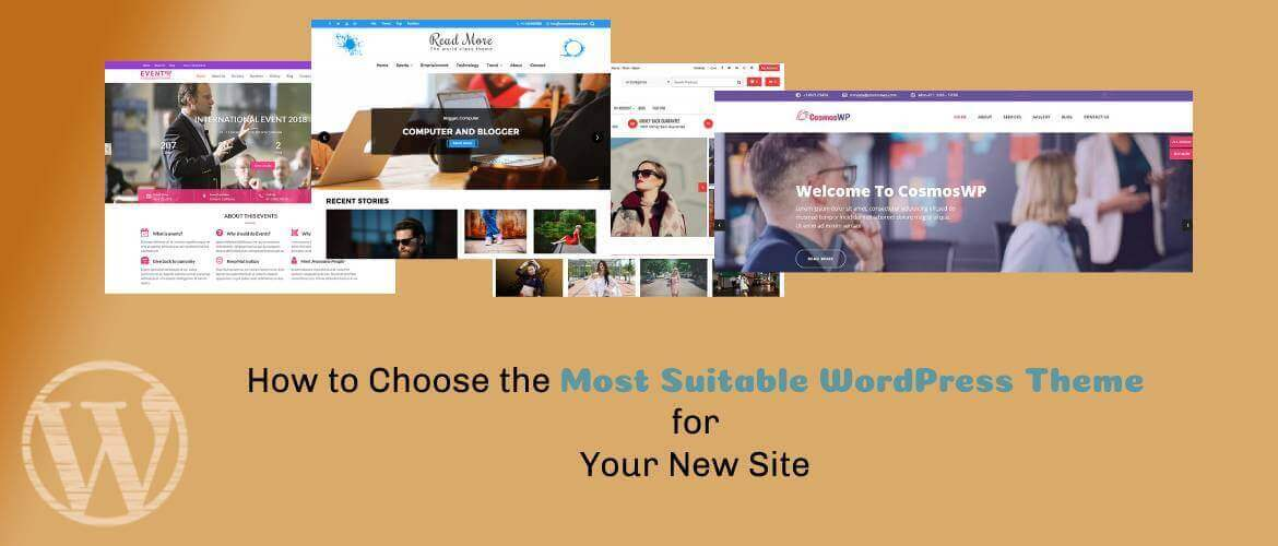 How to Choose the Most Suitable WordPress Theme for Your New Site