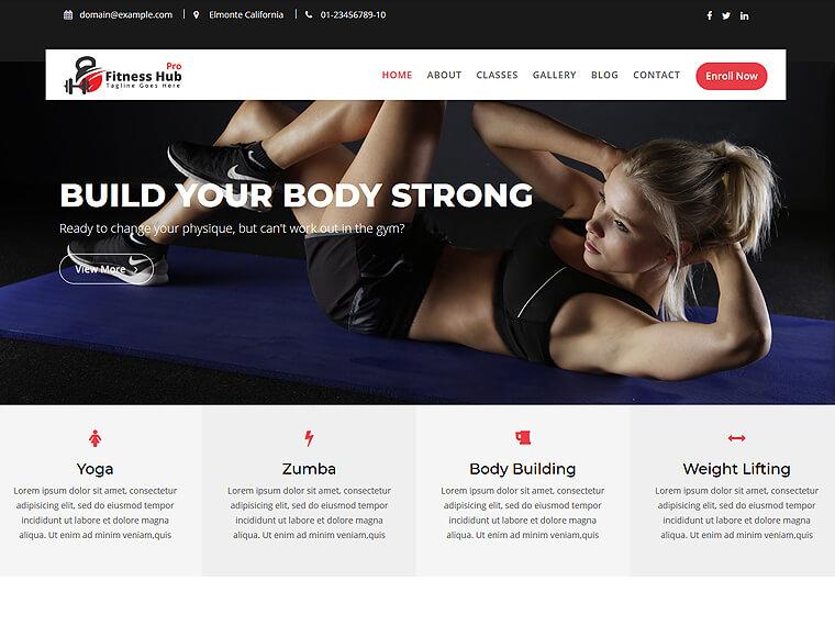 Fitness Hub Pro